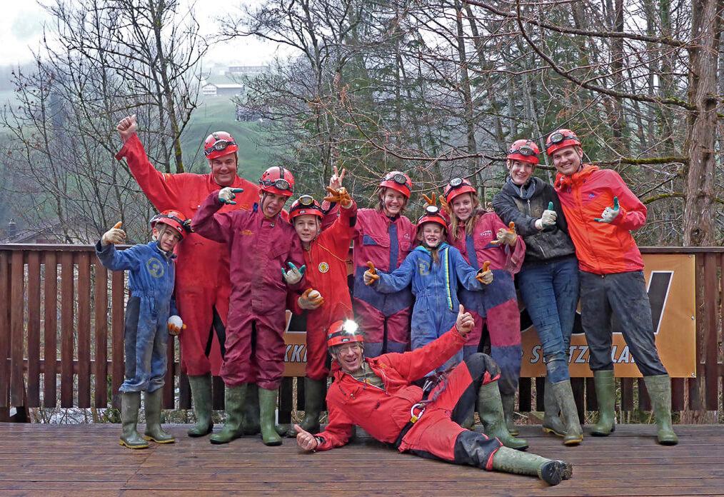 Hölloch Höhlen - Fun & Action auf dem Hölloch Parcours