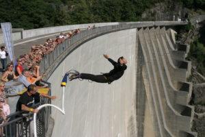 007 VIP Event auf der Bungy Jump Anlage im Verzascatal | Trekking Team AG