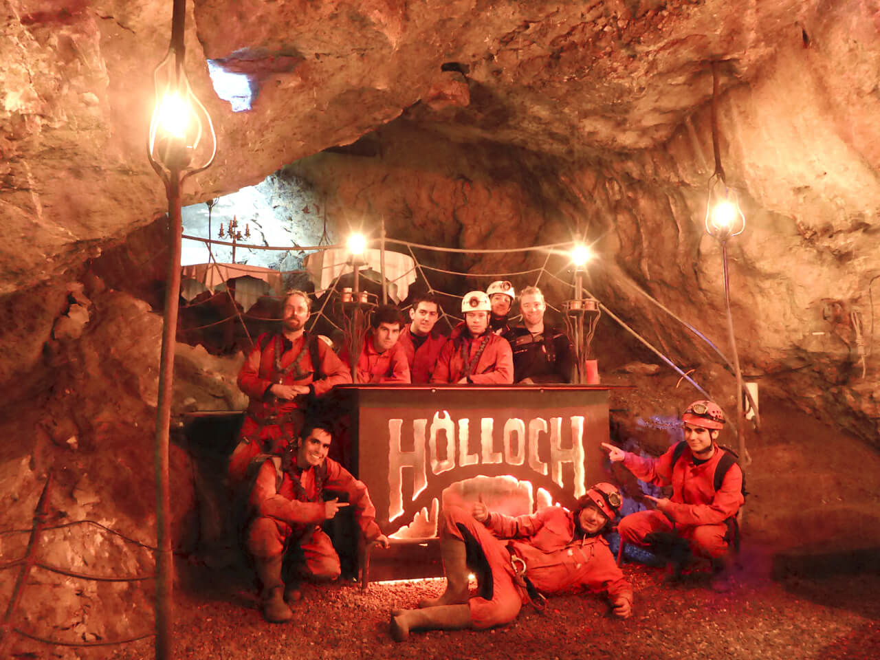 Hölloch Höhlen Erlebnis Touren | Trekking Team AG