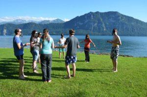 Spiel Olympiade - spielerischer Wettkampf | Trekking Team AG