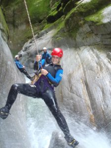 Canyoning im Tessin | Trekking Team AG