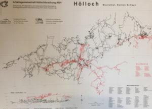 Plan des Hölloch Höhlensystems | Trekking Team AG