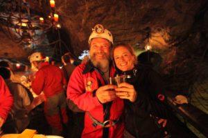 Stimmungsbild Höhlen-Raclette | Trekking Team AG