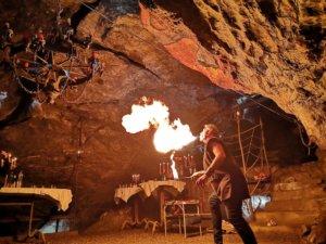 Feuer- und Fakir-Show mit Hölloch Teufel