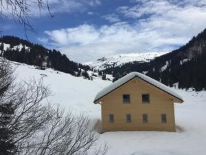 Winter beim Berghaus Pragelblick | Trekking Team AG
