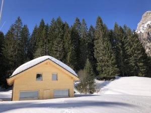 Berghaus Pragelblick im Winter | Trekking Team AG