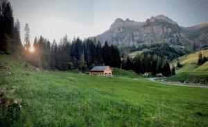 Berghaus Pragelblick - Abendstimmung