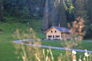 Berghaus Pragelblick - idyllische Abgeschiedenheit