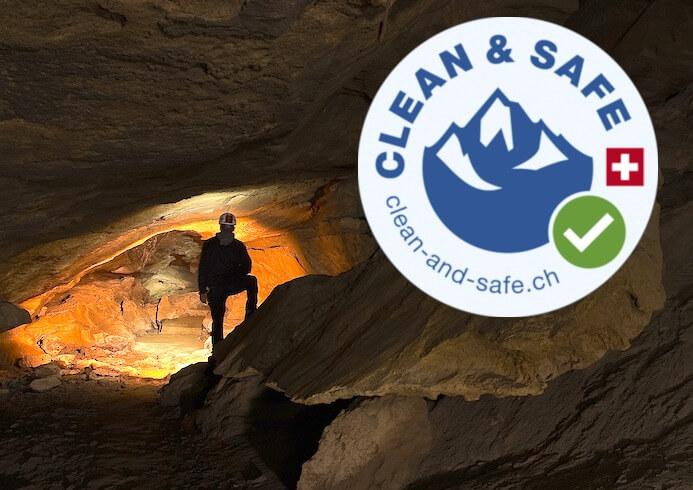 Clean & Safe label
